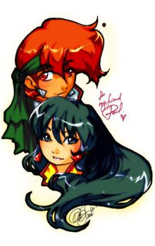 Dirty Pair by pu