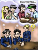 FMA Royai: Daddy Daydreaming by TerribleToadQueen