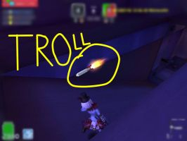 Troll rocket XD epic bug in MicroVolts by oskar1300