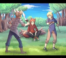 CWM:training in the woods by Nerior