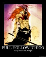 Full Hollow Ichigo Demotivator by novaburst16