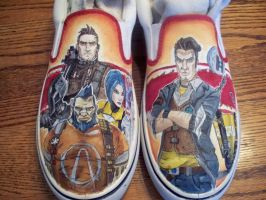 Borderlands2 shoes by devpose