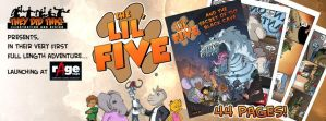 The Lil Five launch at Rage Expo by oICEMANo