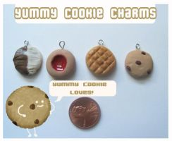 Yummy Little Cookie Charms by chat-noir