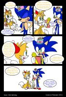 Sonic's 19th Birthday--page 1 by SonicFF