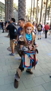 Aloy and the Old One's City by ZhaneAugustine