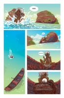 Mia Tales from the Lost Islands page 9 in color by NunoPlati