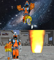 MMD NC - Rocket and Rocket-Drill Fourze 2-Pack by Zeltrax987