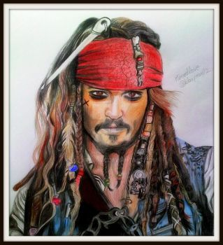 Captain Jack Sparrow by Mixartlove