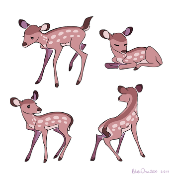 oh deer by BlueOrca2000
