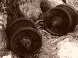 Old weights by DreamlessDreamer18