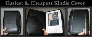 Easiest and Cheapest Kindle Case -or for whatever- by craftysorceress
