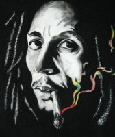 bob marley by shinedownster