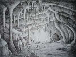 Ink Cave by Demon-Lionka