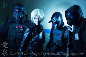 Wolfpack cosplay by KimMazyck