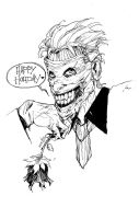 Joker The New 52 by ARIELAkris