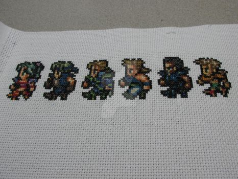 Final Fantasy 6 line Commison wip 4 by cainslove