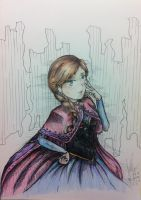 Frozen Anna by Zumilian