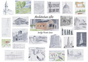 Architecture 280 Drawings by the-banana-paradox