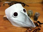 Leather plague doctor mask by Danmaku17