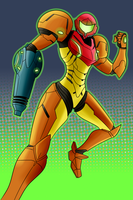 Veteran - Samus by AndrewMartinD