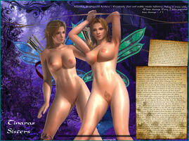 DOA Tinaris Sisters Fantasy Roleplay by nacman30