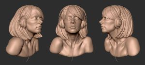 Girl Bust by screenlicker