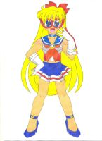 Prototype Sailor Venus by animequeen20012003