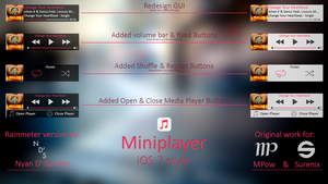 Miniplayer iOS 7 style - Updated! by Nyan-PTX