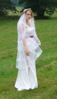 bride on a field 5 by indeed-stock