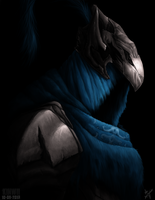 Knight Artorias, the abyss walker by kinwii