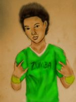Zumba Painting by LelouchArt