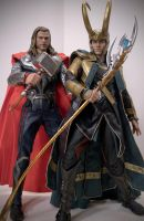Brothers Asgardian by Echoes-of-Elaris