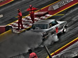 chevy nova dragracing by AmericanMuscle