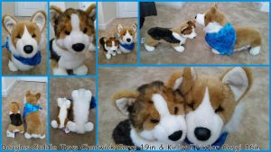 Douglas Cuddle Toys Chadwick 19in and Kirby 16in! by Vesperwolfy87