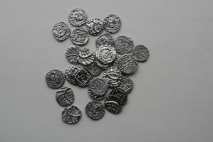 Anglo-Saxon hoard by Dewfooter