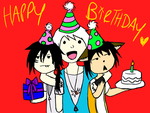 ITS YOUR BIRTHDAY YAEY by Xx-Stitches-xX