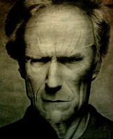 Clint Eastwood Contrasted by The-Keymaker