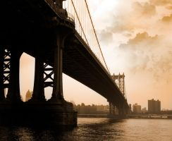 Manhatten Bridge by bygrizdotcom