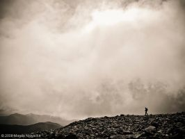 Walk in the clouds by schelly