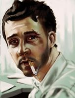 Fight Club Study by DiceNwn