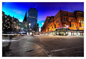 Montreal at Night 60 by Pathethic