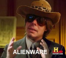 Dross y su Alienware by Elfandedross