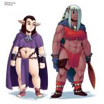 Mage and Warrior by SSO-Robo