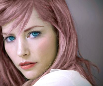Sienna Guillory as Lightning by kosmos99