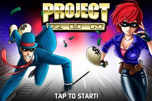 Project RUN - Title screen by Mantastic001