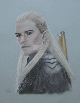 Legolas Greenleaf sm by Powerfulwoodelf