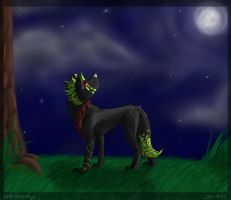 .::PC for ferret46-speedpaint::. by Nonthyl