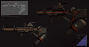 district 9 flame thrower by bananamannen