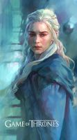 Daenerys Targaryen-Game of Thrones by KoweRallen